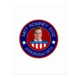 Mitt Romney for US President 2012 Post Cards