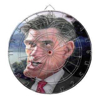 Mitt Romney Funny Dartboard by Rick London