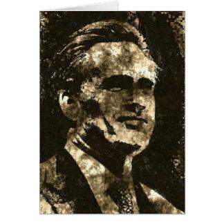 Mitt Romney Grunge Art Portrait Greeting Card