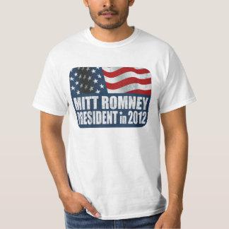 Mitt Romney in 2012 distressed T-Shirt