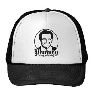 MITT ROMNEY IS MY HOMEBOY CAP