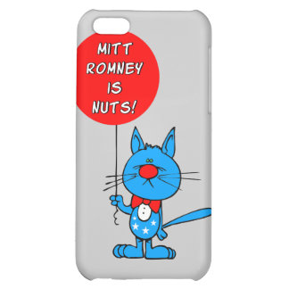 Mitt Romney is nuts iPhone 5C Cases