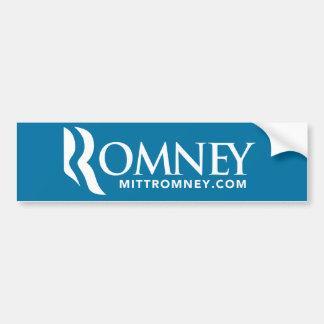 Mitt Romney Logo Bumper Sticker Blue 2012