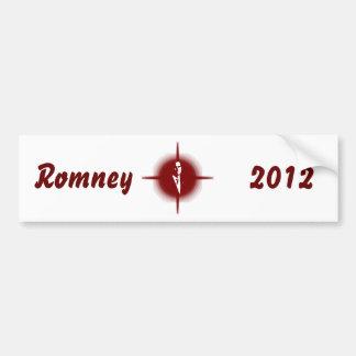 Mitt Romney Outline Bumper Stickers