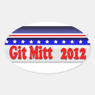 Mitt Romney Oval Sticker