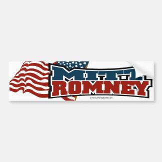 Mitt Romney Patriotic Bumper Sticker