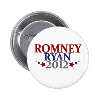 Mitt Romney Paul Ryan 2012 Pin