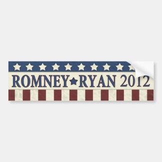 Mitt Romney Paul Ryan 2012 Bumper Sticker
