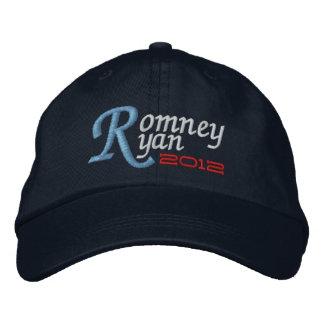 Mitt Romney Paul Ryan 2012 Embroidered Hats