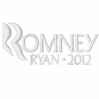 Mitt Romney Paul Ryan 2012 Embroidered Polo Shirt