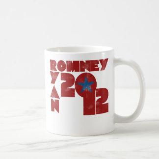 Mitt Romney Paul Ryan 2012 Coffee Mugs