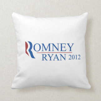 Mitt Romney & Paul Ryan 2012 Pillow