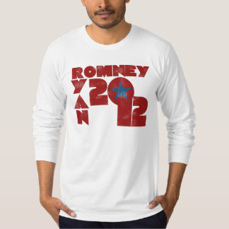 Mitt Romney Paul Ryan 2012 T Shirts
