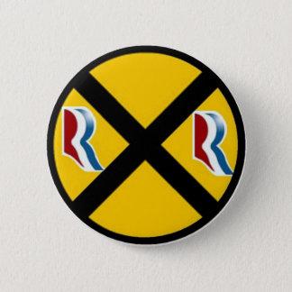 Mitt Romney & Paul Ryan Express 2012 6 Cm Round Badge