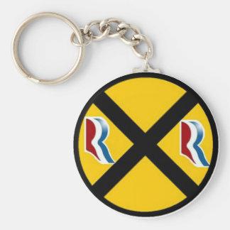Mitt Romney & Paul Ryan Express 2012 Basic Round Button Key Ring