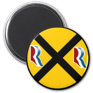 Mitt Romney Paul Ryan Express 2012 Refrigerator Magnet
