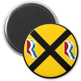Mitt Romney & Paul Ryan Express 2012 6 Cm Round Magnet