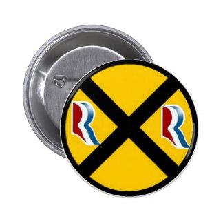 Mitt Romney Paul Ryan Express 2012 Pin
