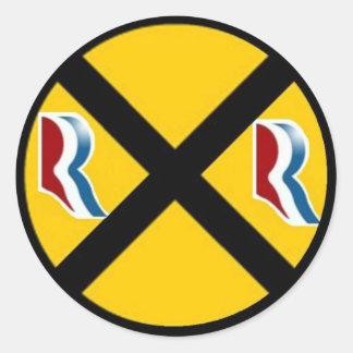 Mitt Romney & Paul Ryan Express 2012 Round Sticker