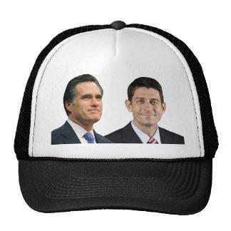 Mitt Romney - Paul Ryan Mesh Hats