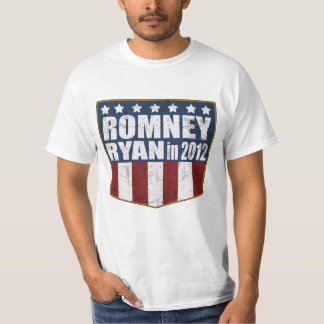 Mitt Romney Paul Ryan in 2012 distressed T-Shirt