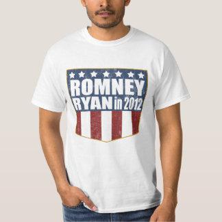 Mitt Romney Paul Ryan in 2012 faded T-Shirt