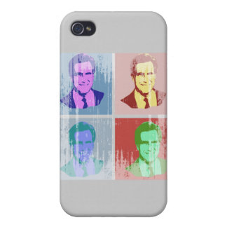 MITT ROMNEY Pop Art iPhone 4/4S Case