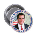 Mitt Romney President 2012 Gear Buttons