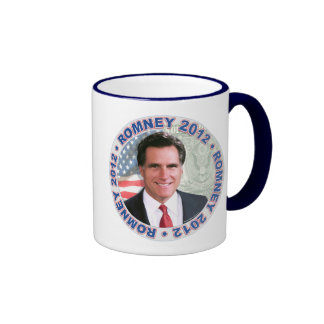 Mitt Romney President 2012 Gear Ringer Mug