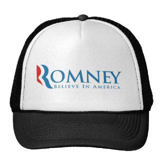 mitt romney president 2012 usa elections politics hats