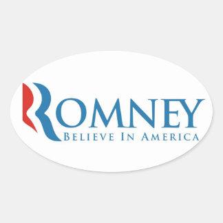 mitt romney president 2012 usa elections politics oval sticker
