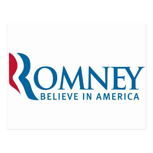 Mitt Romney Presidential Campaign Election Product Post Card