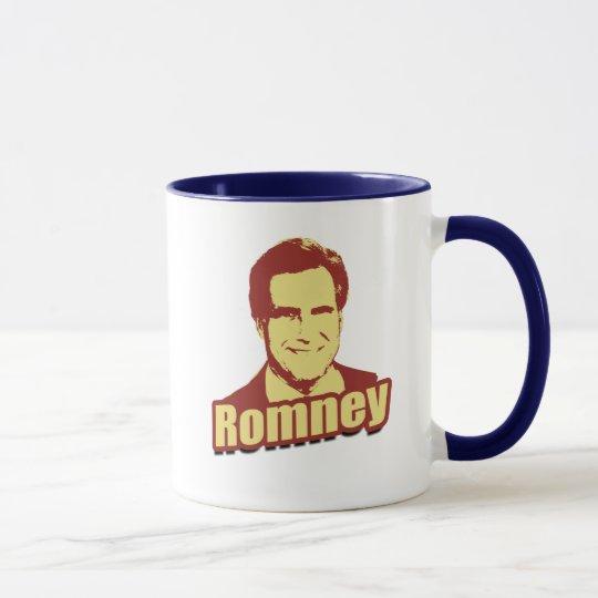 MITT ROMNEY Propaganda Post Mug