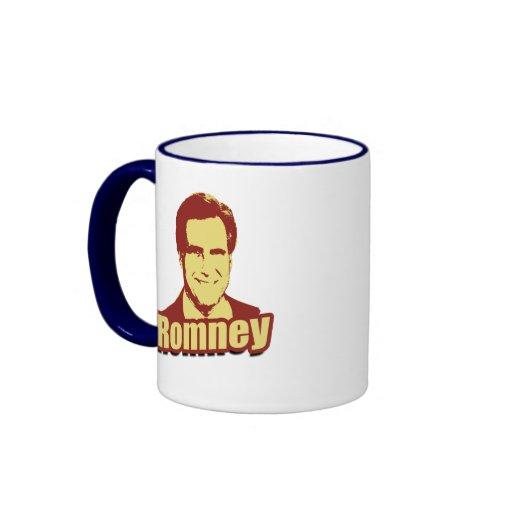 MITT ROMNEY Propaganda Post Ringer Mug