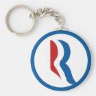 "Mitt Romney ""R"" Logo Key Ring"