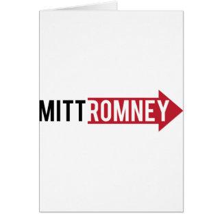 Mitt Romney Right Greeting Card