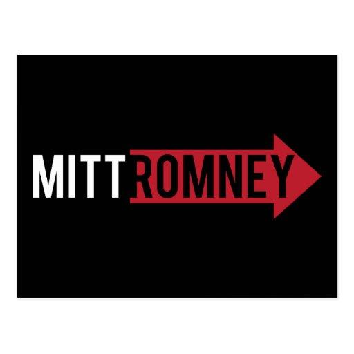 Mitt Romney Right Post Cards