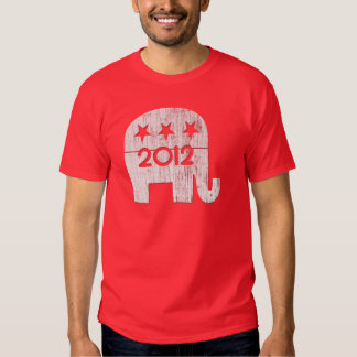 Mitt Romney Rupublican Elephant 2012 T-shirts