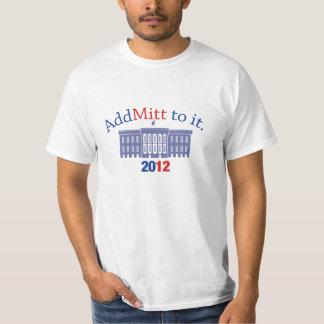 Mitt Romney Supporters t-shirt