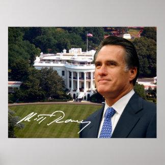 Mitt Romney & White House Posters