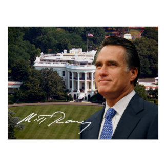 Mitt Romney White House Posters