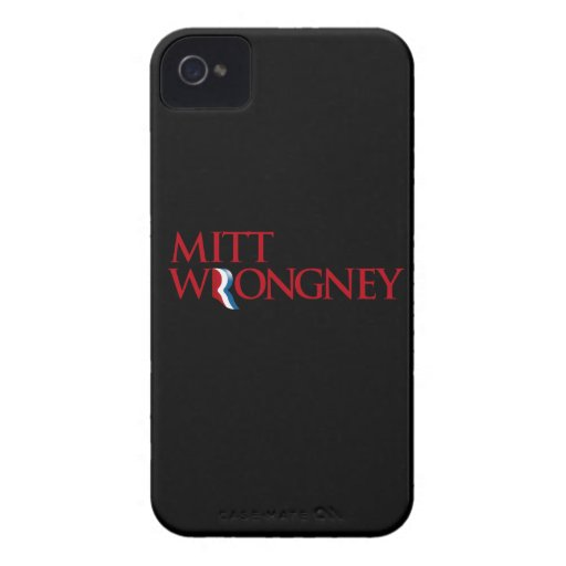 Mitt Wrongney Blackberry Cases