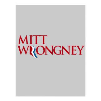 Mitt Wrongney Postcard