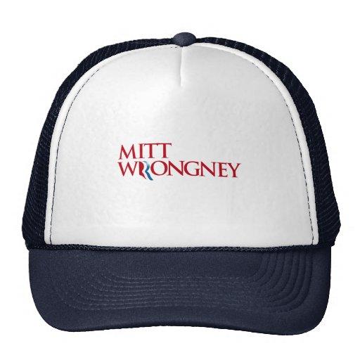 Mitt Wrongney Trucker Hats