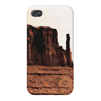 Mitten Butte in Monument Valley, Utah iPhone 4 Cases