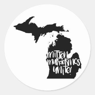 Mitten Murderinos Unite! Stickers