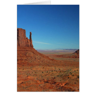 Mittens At Monument Valley Card