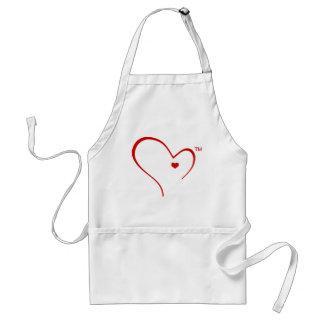 "Mittens for Detroit ""Heart Logo"" Apron"