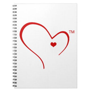 Mittens for Detroit Heart Logo Notebook