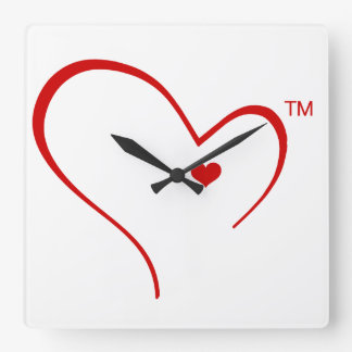 Mittens for Detroit Heart Logo Round Wall Clock